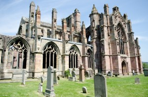 Melrose Abbey, betreut von Historic Scotland