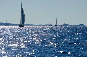Segeln auf der Adria