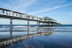 Die Seebrücken Usedoms laden zum Flanieren ein.