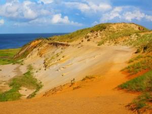 Das Morsum Kliff bietet großartige Wandermöglichkeiten.